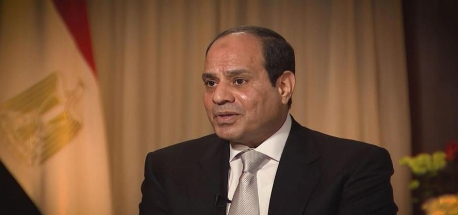 [Sissi é reeleito presidente do Egito com 97% dos votos]