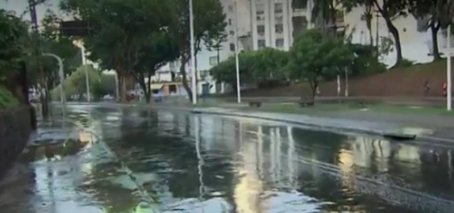 [Vazamento de água gera intensidade na Avenida Centenário; veja trânsito ]