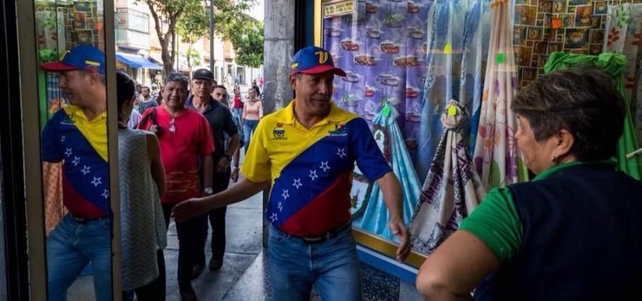 [Candidato à presidência da Venezuela denuncia agressão a correligionário]