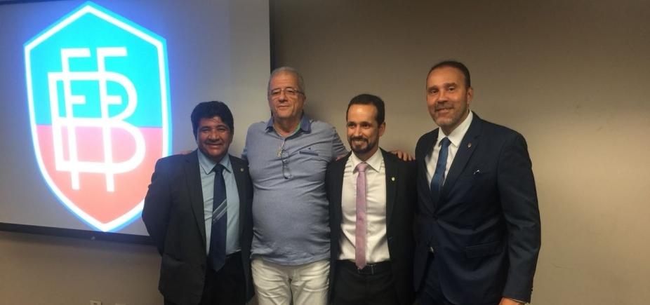 [Ricardo Lima é eleito presidente da Federação Bahiana de Futebol ]