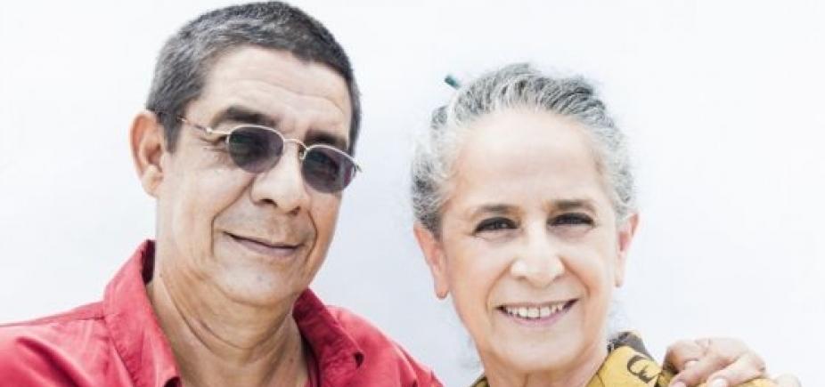 [Maria Bethânia e Zeca Pagodinho fazem show juntos em Salvador]