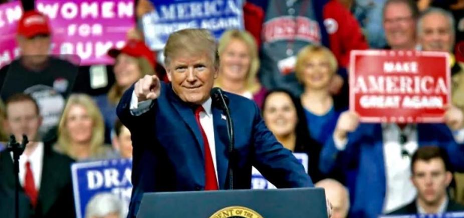 [Trump diz que vai usar militares na fronteira com o México]