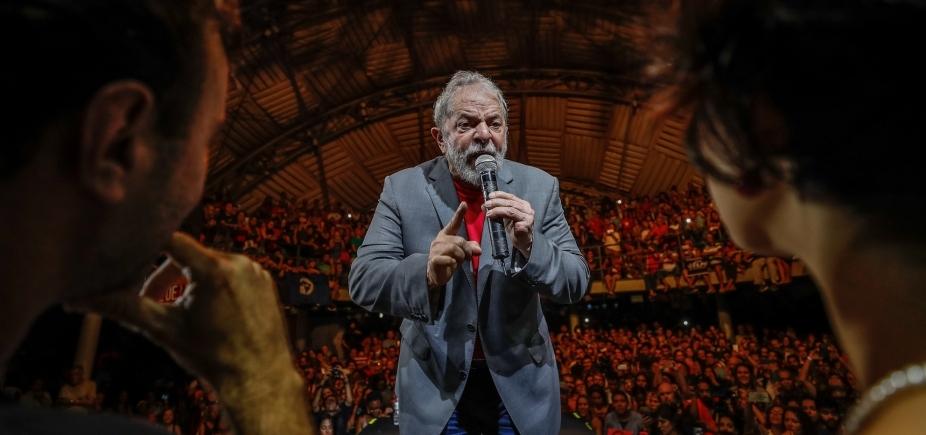 [Grupo do PT fala em ʹrebeliãoʹ e corrente humana para proteger Lula ]