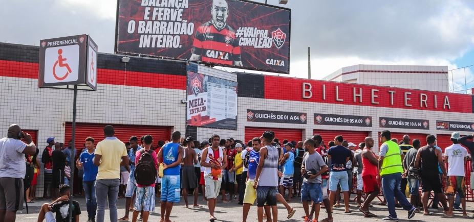 [Decisão do Campeonato Baiano já tem mais de 70% dos ingressos vendidos]