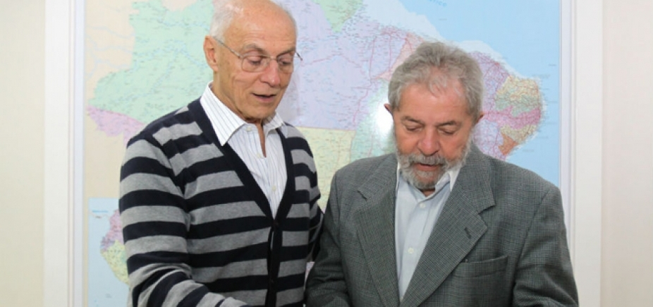 [Suplicy quer ficar preso com Lula até fim do processo]