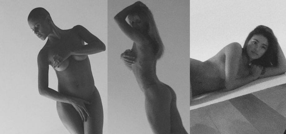 [Projeto Pele: atrizes posam nuas em fotos sem retoques]