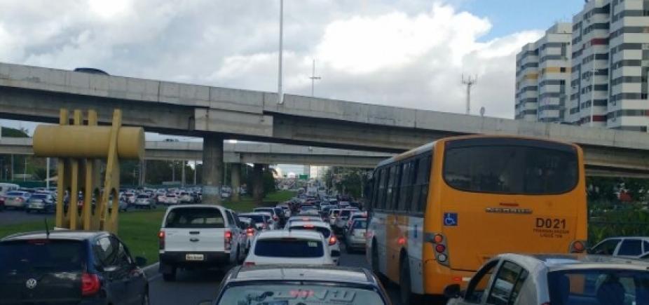 [Acidente na Pituba e protesto em São Caetano; confira o trânsito]