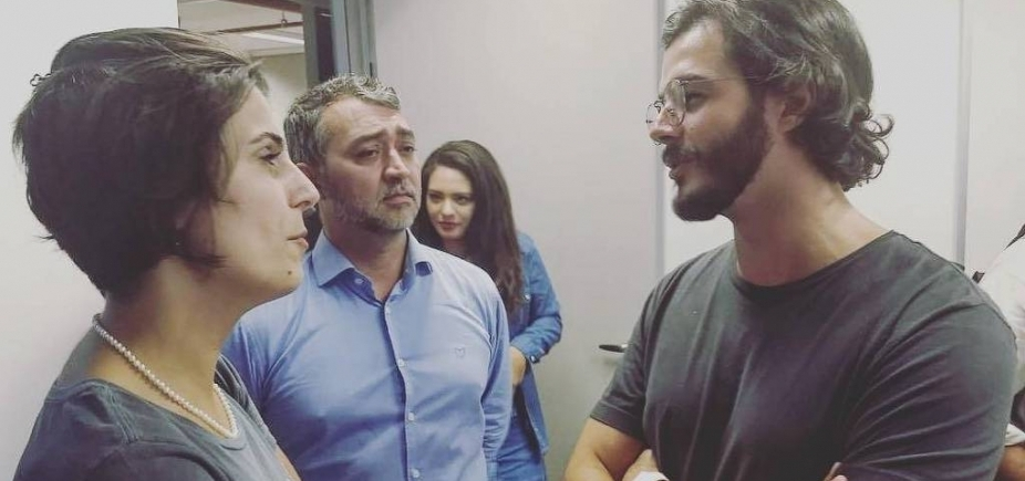 [Túlio Gadêlha, namorado de Fátima Bernardes, visita Lula após decreto de prisão]
