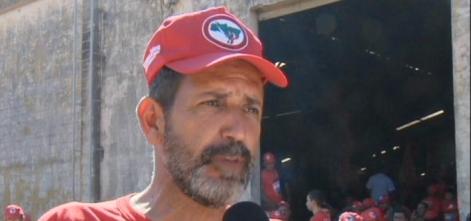 [José Rainha diz que prisão de Lula pode levar à guerra civil]