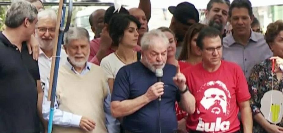 [Em discurso, Lula confirma que se entregará a Polícia Federal]