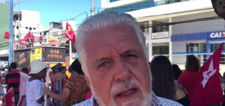[Wagner pede que militância faça vigília constante a favor de Lula; vídeo]