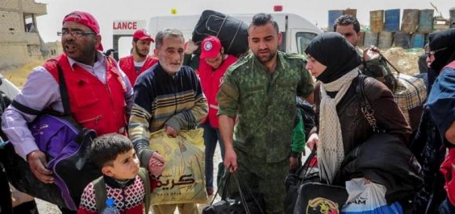 [Síria: autoridades do país anunciam acordo para pacificar Duma ]