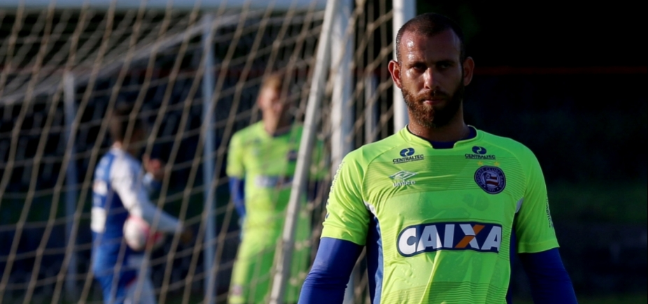 [Goleiro do Bahia rescinde contrato e vai para o Vila Nova]
