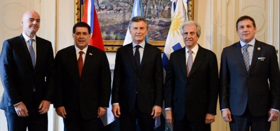 [Copa de 2030: Argentina, Uruguai e Paraguai dividem sedes]