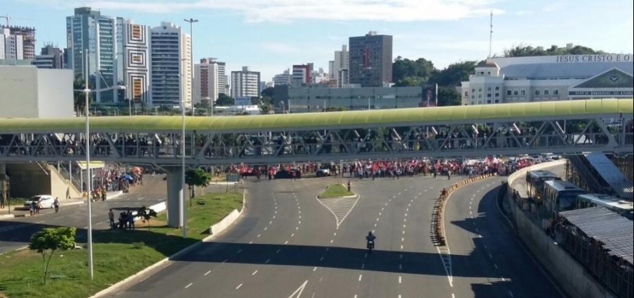 [Grupo marca protestos em Salvador até o final de semana]