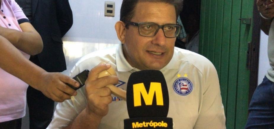 [Guto explica decisão de poupar atletas do Bahia na Sul-Americana: ʹNinguém é máquinaʹ]
