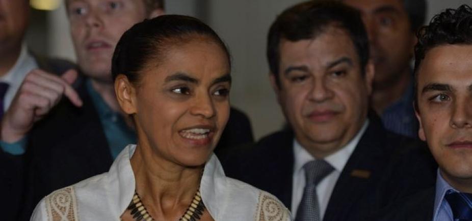 [Marina Silva afirma ser contra a privatização da Eletrobrás]