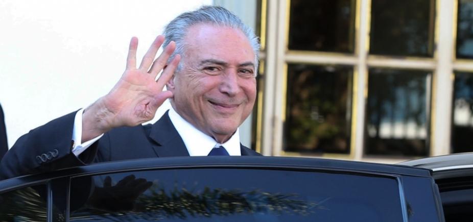 [Michel Temer viaja a São Paulo para encontrar advogados]