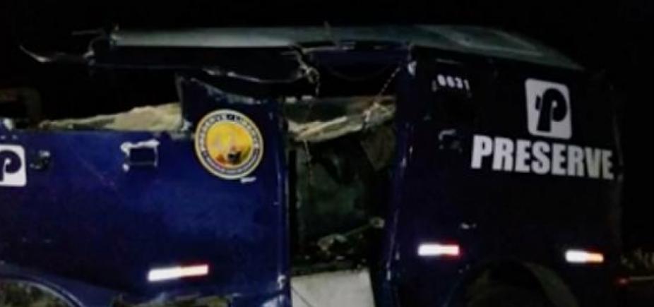 [Grupo armado explode carro-forte no norte da Bahia]