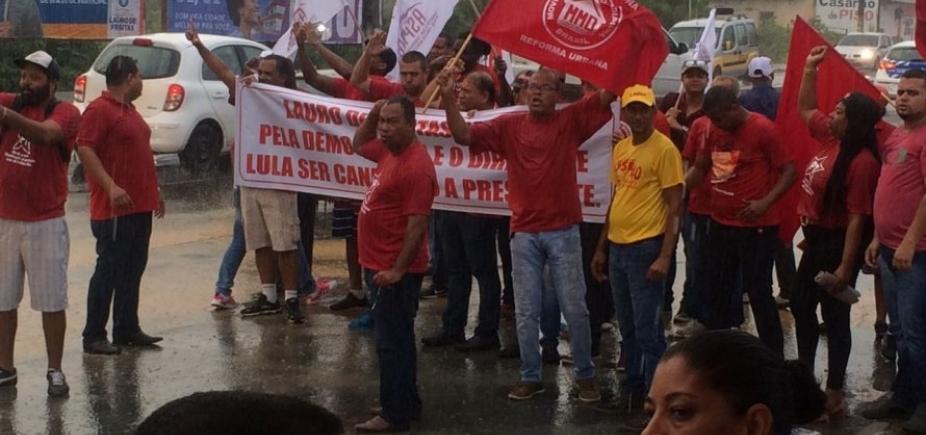 [Justiça baiana autoriza MST a fechar Estrada do Coco por Lula]