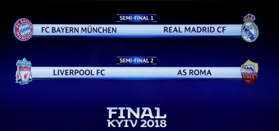 [Favoritos, Real e Bayern duelam na semifinal da Champions]