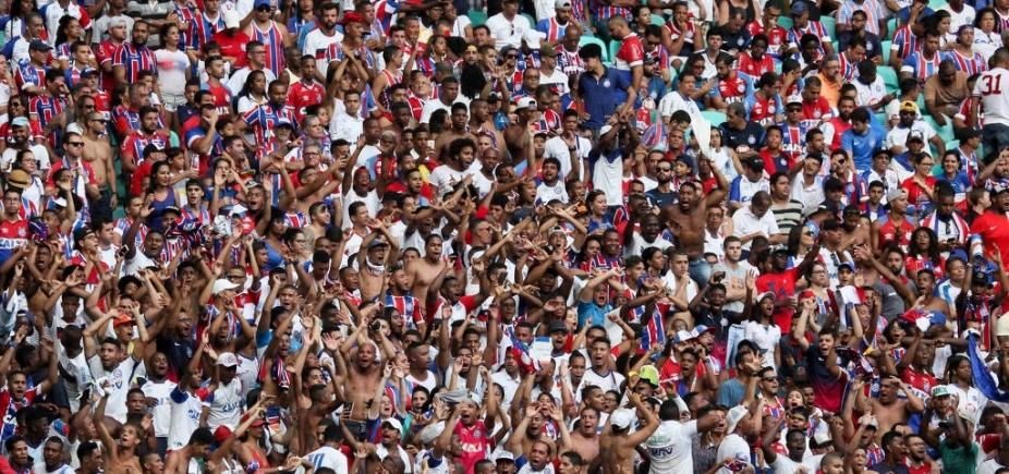 [Maior entre nordestinos, Bahia é quarto colocado em torcida na região, diz pesquisa]