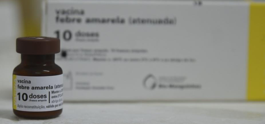 [BA, SP e RJ estão abaixo da meta de vacinação contra febre amarela]