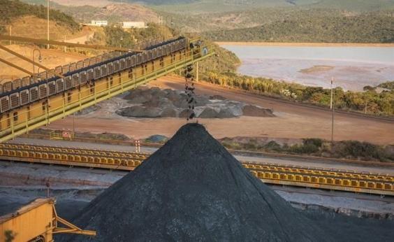 Produção de minério da Vale é reduzida em 4,9% no 1º tri