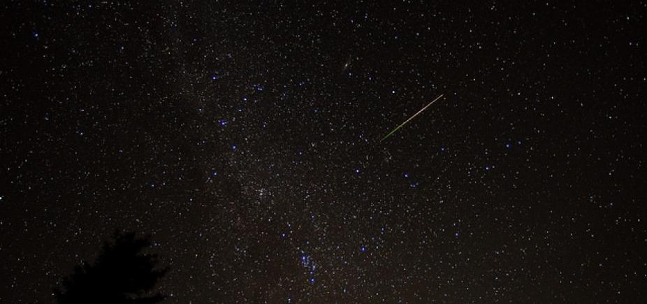 [Chuva de meteoros Líridas vai ser mais visível no Norte e Nordeste]