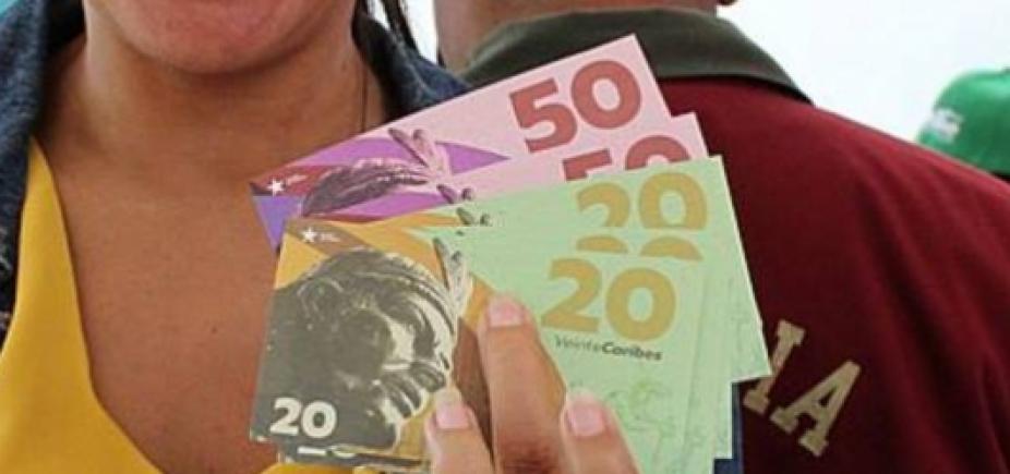 [Caracas lança moeda própria contra falta de alimentos ]