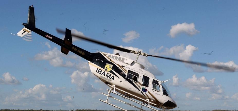 [Operação do Ibama apreende 7,7 mil litros de agrotóxicos ilegais no oeste baiano]
