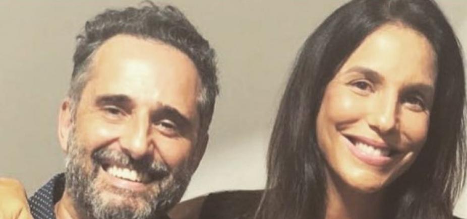 [ʹVale-nightʹ das gêmeas: Ivete vai ao show do uruguaio Jorge Drexler]