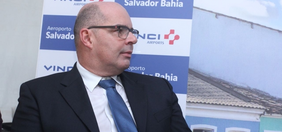 ['Estamos confiantes que resultado deixará todos felizes', diz presidente do Aeroporto de Salvador ]