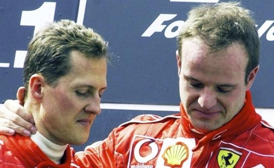 Rubinho foi impedido de visitar Schumacher pela famĩlia do alemão