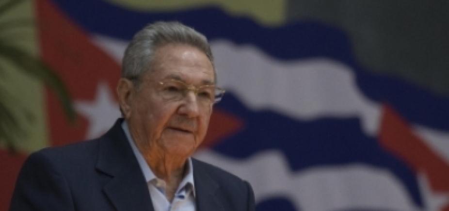 [Raúl Castro critica prisão de Lula em discurso de despedida ]