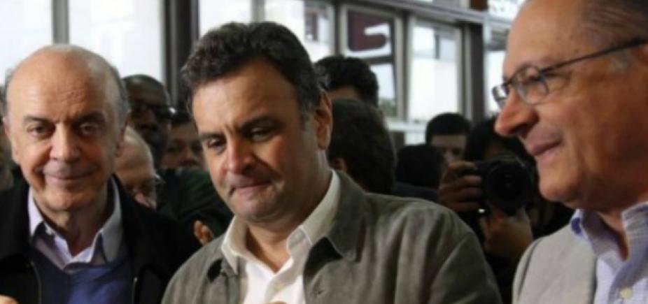 [Rivais avaliam que PSDB afasta eleitor de Alckmin; Aécio se vê como 'bola da vez']
