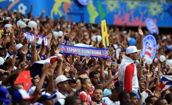 Bahia já vendeu mais de 12 mil ingressos para duelo contra o Santos