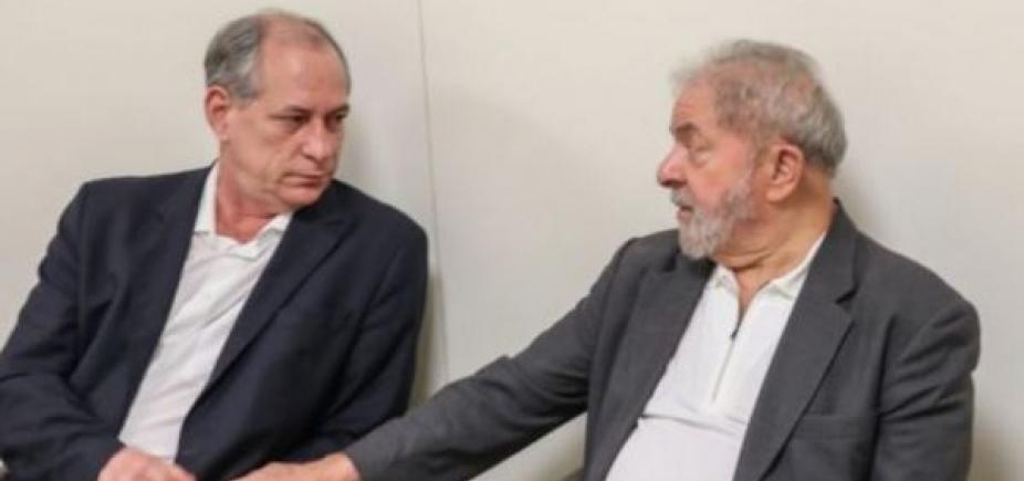 [Lula cita ʹrelação de amizadeʹ para receber Ciro Gomes na prisão]