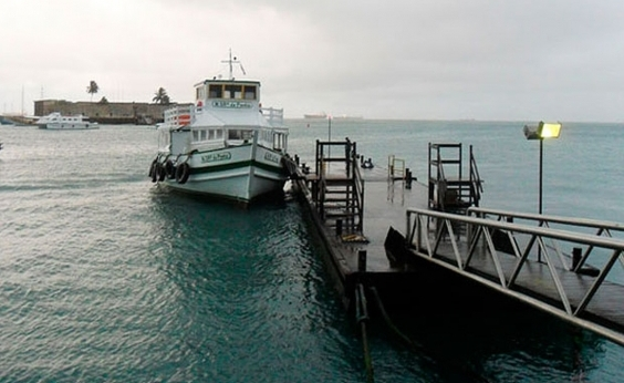 Travessia Salvador-Mar Grande é suspensa pelo terceiro dia consecutivo