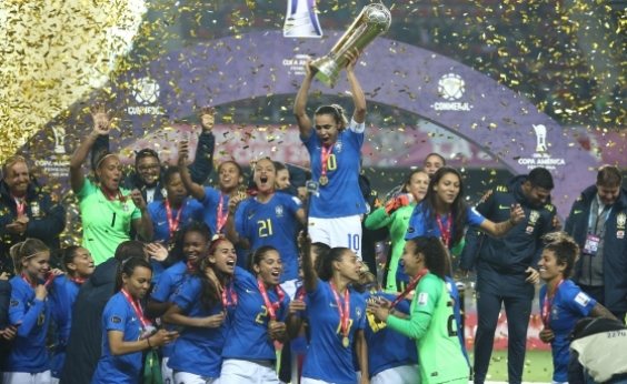 Com 100% de aproveitamento, seleção feminina de futebol vence Copa América