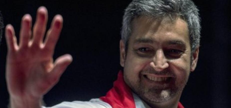 [Conservador Mario Abdo Benítez vence eleição no Paraguai]
