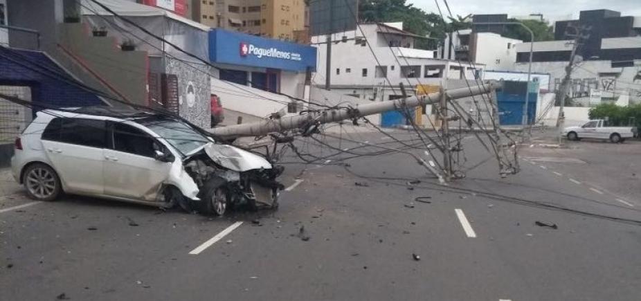 [Comércio do Rio Vermelho tem prejuízos de até R$ 8 mil com acidente ]