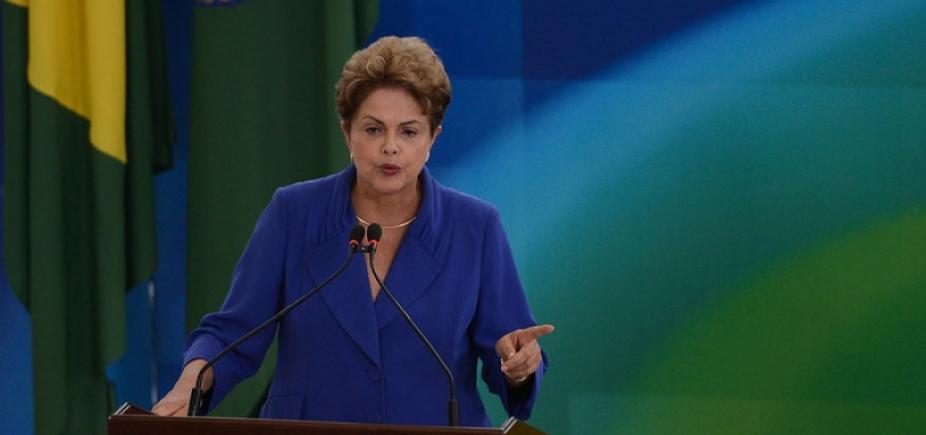 [Dilma compara custódia de Lula ao regime de prisão da ditadura]