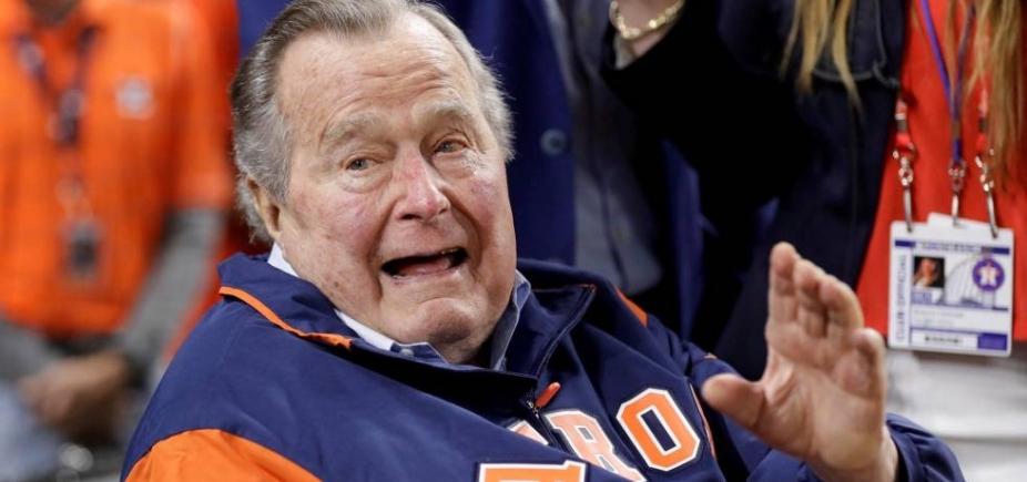 [George Bush ʹpaiʹ é hospitalizado com infecção ]