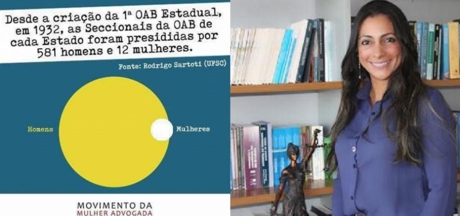 [Eleição da OAB: movimento lança candidatura de Ana Patrícia, mas advogada rejeita]