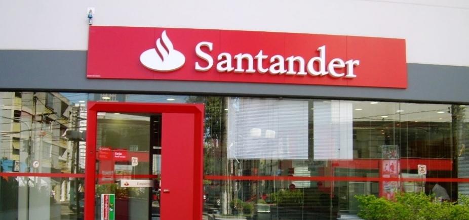 [Santander anuncia aumento de lucro global de 10% no 1º trimestre]