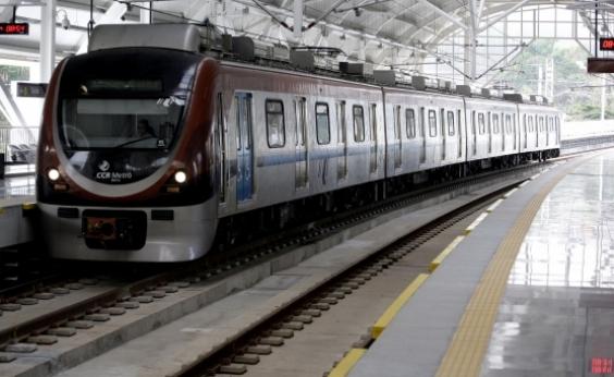 Estação do metrô do aeroporto será inaugurada na próxima quinta-feira