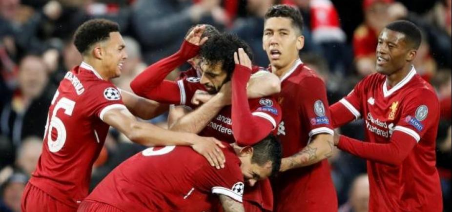 [Liverpool vence a Roma por 5 a 2 com show de Salah e Firmino]