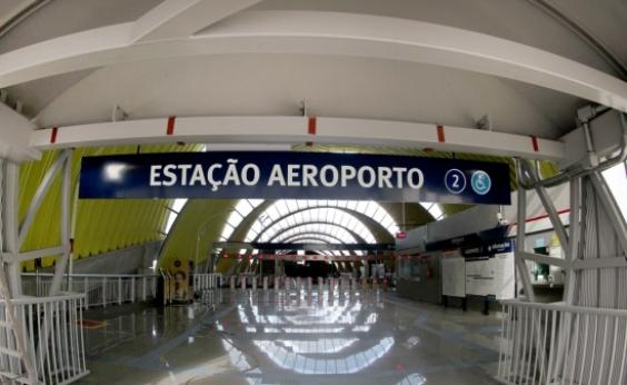 Com estação Aeroporto, metrô terá capacidade para 17 mil pessoas por hora
