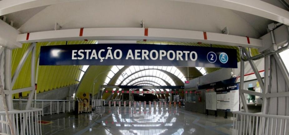 [Com estação Aeroporto, metrô terá capacidade para 17 mil pessoas por hora ]